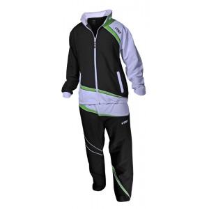 Спортивный костюм TSP KEENO черно-зеленый