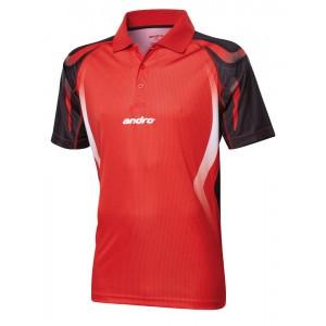 Футболка Andro NETIS красно-черный