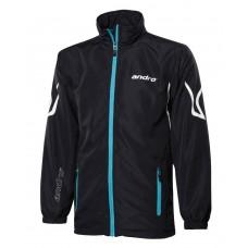 Куртка от спортивного костюма Andro ORONTES черный-бирюзовый