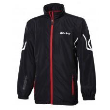 Куртка от спортивного костюма Andro ORONTES черный-красный