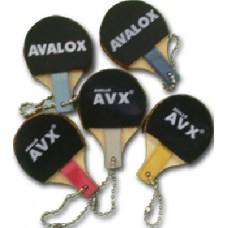 Avalox Брелок ракетка с цепочкой