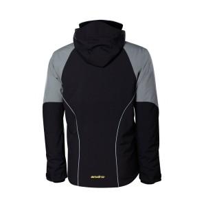Куртка  Andro VIENTO  чёрный серый