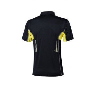 Футболка  Andro LASCA чёрный жёлтый