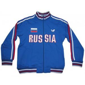 Толстовка Butterfly сборной RUSSIA синий