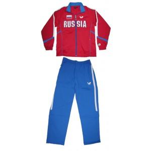 Спортивный костюм Butterfly сборной RUSSIA красный