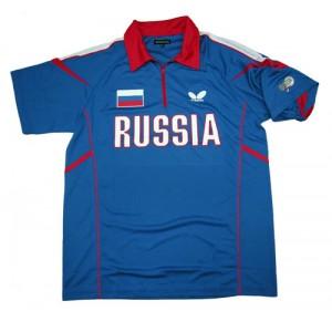 Футболка Butterfly сборной RUSSIA '14 синий