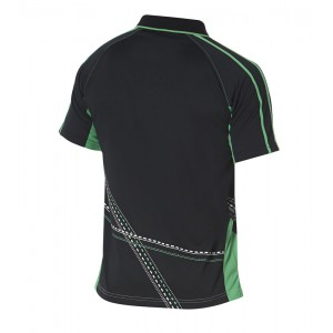 Футболка Andro ARAKIS черный-зеленый