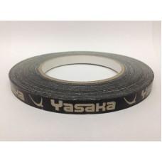 Торцевая лента на ракетку Yasaka  10мм золотая / черная