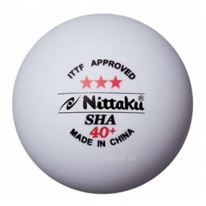 Nittaku Мячи пластиковые SHA *** 40+ 3 шт.