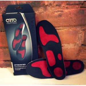 Стельки ORTO PROFESSIONAL Optimum RED