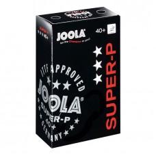 Joola Мячи пластиковые SUPER-P *** 40+ 6 шт.