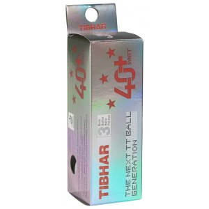 Tibhar Мячи пластиковые SYNTT ***  40+ 3 шт.