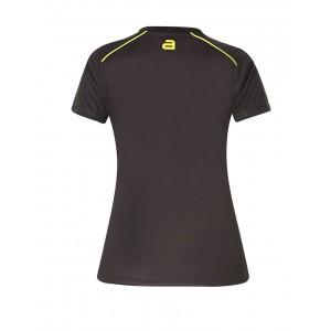Футболка Andro DUNCAN женская черный желтый