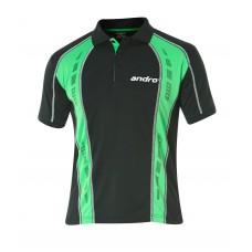 Футболка Andro MAGO черный зеленый