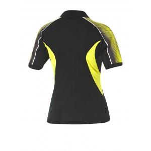 Футболка Andro SKIP женская черный желтый