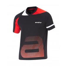 Футболка Andro YARI черный красный