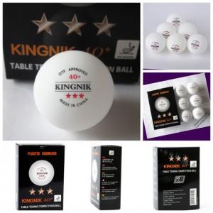KINGNIK Мячи пластиковые  *** 40+ 6 шт.