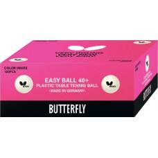 Butterfly Мячи пластиковые EASY BALL 40+ 120 шт.
