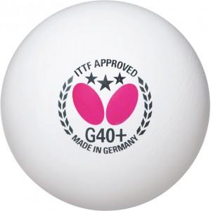 Butterfly Мячи пластиковые *** G40+ 3 шт.