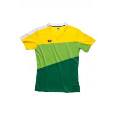 Футболка Butterfly KOKI желтый зеленый