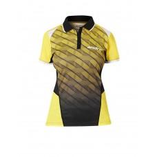 Футболка Andro MILOS женская желтый черный