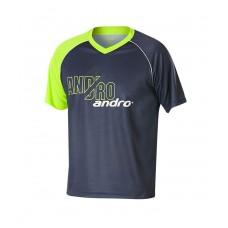 Футболка Andro BRADY серый салатовый