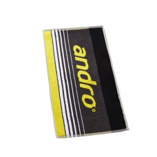 Полотенце Andro SPIKE серый желтый