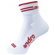 Носки Andro SPEED белый красный