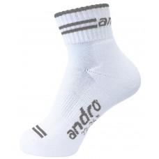 Носки Andro SPEED белый серый