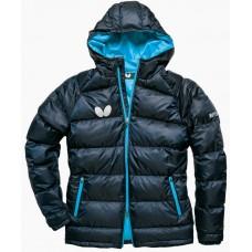 Куртка пуховик Butterfly DOWN темно-синий