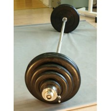 Штанга MB BARBELL 120 кг ф 50 -1800 мм хром