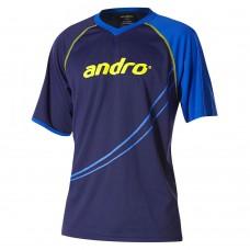 Футболка Andro DILLON синий желтый