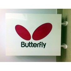 Вывеска наружная Butterfly