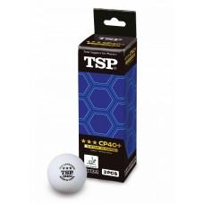 TSP Мячи CP пластиковые *** 40+ 3 шт.