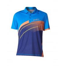 Футболка Andro BARRY голубой оранжевый