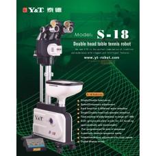 Y&T S-18 Напольный робот с двумя головами