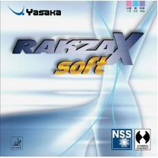 Накладка Yasaka RAKZA X SOFT 2,0 красная