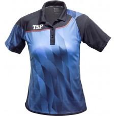 Футболка женская TSP HIKARI синий черный XS