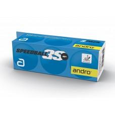 Andro Мячи пластиковые SPEEDBALL 3S *** 40+ 3 шт. белые