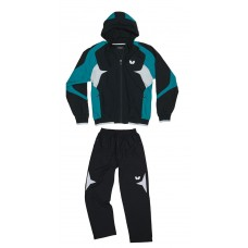 Спортивный костюм Butterfly SHIRO черный голубой S