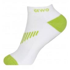 Носки GEWO FLEX короткие белый зеленый 42-44 (L)
