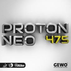 Накладка Gewo PROTON NEO 475 2,2 черная