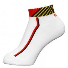 Носки Nittaku LS белый красный 35-38 (23-25) (M)