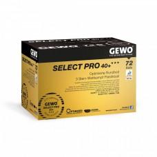 GEWO Мячи пластиковые SELECT PRO *** 40+ 72 шт. белые