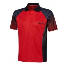 Футболка Andro MARLEY красный черный 2XL