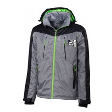 Куртка Andro BARROW серый черный S