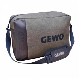 Сумка GEWO FREESTYLE MESSENGER  серый-синий