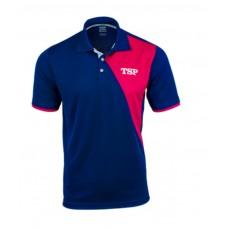 Футболка-поло TSP TAMEO синий красный XL