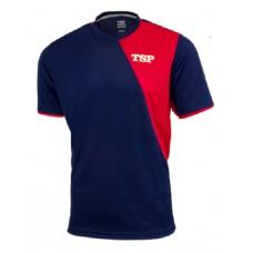 Футболка TSP TAMEO синий красный 2XL