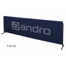 Andro Бортик STABILO 233x90 см синий 5 шт./уп.